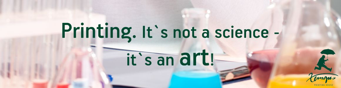 Printing. It is not a science - it is an art! - Zemgus Printing House